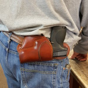 Center back Horizontal Holster
